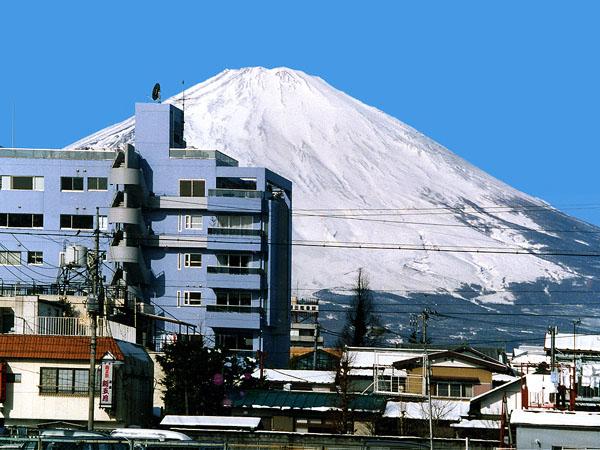 富士山とTANNPOPO